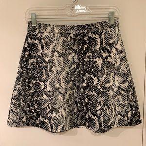 A&F Neoprene A-Line Skirt